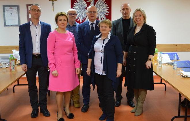 Inauguracyjne posiedzenie Powiatowej Społecznej Rady ds. Osób Niepełnosprawnych