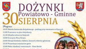 Dożynki Powiatu Łęczyńskiego 2015