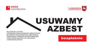 Informacja o naborze wniosków o udzielenie dofinansowania na pokrycie kosztów   związanych z usuwaniem wyrobów zawierających azbest