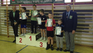 """III Wojewódzki Turniej Klasyfikacyjny w tenisie stołowym w kategorii """"skrzat""""."""