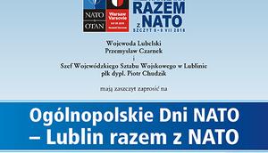 Ogólnopolskie Dni NATO- Lublin razem z NATO
