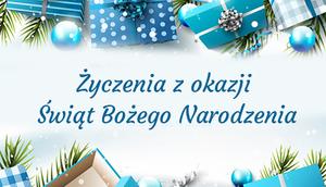 Życzenia z okazji Bożego Narodzenia 2016