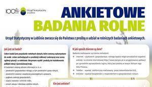 ANKIETOWE BADANIA ROLNE