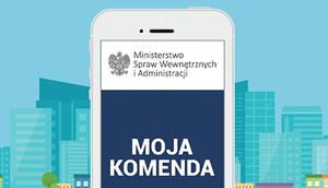 """Promowanie """"Krajowej Mapy Zagrożeń Bezpieczeństwa"""" oraz aplikacji """"Moja Komenda"""""""