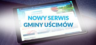 Nowy serwis internetowy GminyUścimów