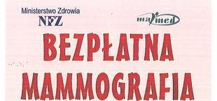 BEZPŁATNA MAMMOGRAFIA