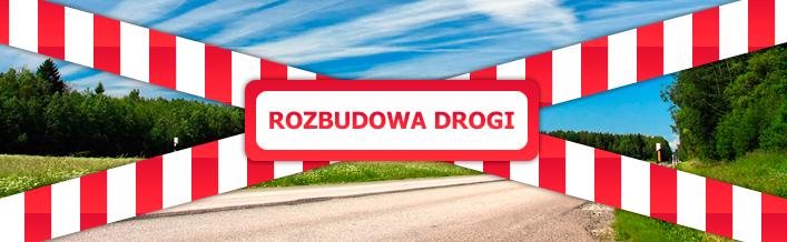 Zawiadomienie o rozbudowie drogi powiatowej nr 2101L
