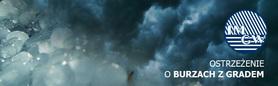 OSTRZEŻENIE O BURZACH Z GRADEM  z dn. 22.08.2012