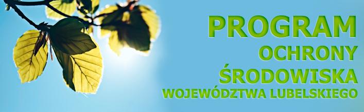 Program ochrony środowiska województwa lubelskiego