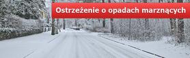 OSTRZEŻENIE O OPADACH MARZNĄCYCH  Z DN.  16.01.2013 r.