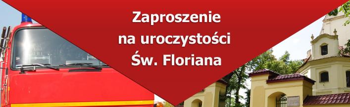 Zaproszenie Wójta na uroczystości Św. Floriana - 5 maj 2013 r.