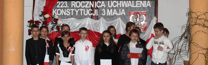 Obchody 223 rocznicy uchwalenia Konstytucji 3 Maja oraz Święta Matki Boskiej