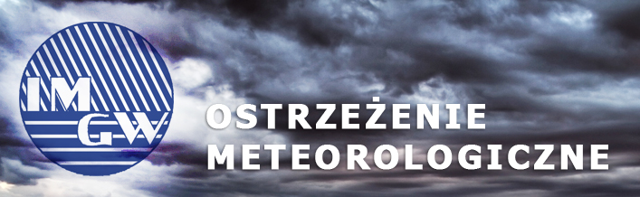 Ostrzeżenie o burzach z gradem z dn. 05.08.2014 r.