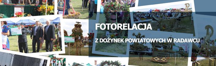Fotorelacja z Dożynek Powiatowych w Radawcu