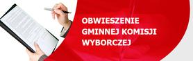 Obwieszenie Gminnej Komisji Wyborczej w Wólce z dnia 23 października 2014 r. o zarejestrowanych kandydatach