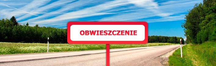 Obwieszczenie Wojewody Lubelskiego z dn. 22 stycznia 2015