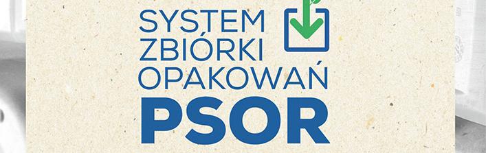 SYSTEM ZBIÓRK OPAKOWAŃ PSOR