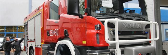 Nowy wóz ratowniczo-gaśniczy dla OSP w Świdniku Dużym Pierwszym