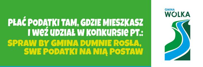 SPRAW BY GMINA DUMNIE ROSŁA, SWE PODATKI NA NIĄ POSTAW!!!