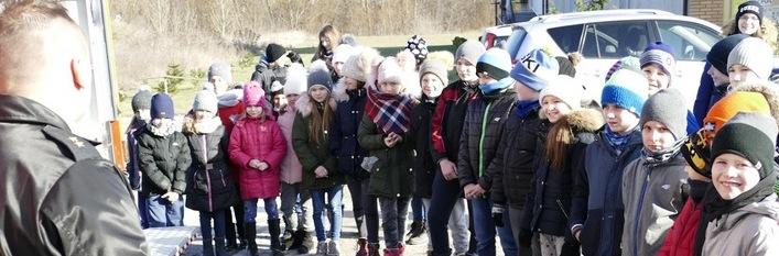 Ferie zimowe w gminie Wólka