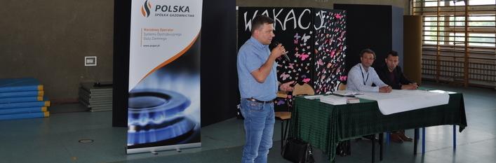 Spotkanie z przedstawicielami Polskiej Spółki Gazowniczej