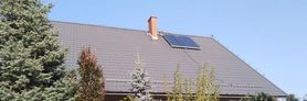 OZE w gminie Wólka - montaż kolektorów słonecznych i kotłów na biomasę