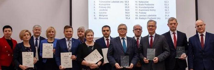 Gmina Wólka -XII gminą według Rankingu Gmin Lubelszczyzny