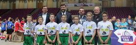 Szkoła Podstawowa z Łuszczowa z Gminy Wólka złotym medalistą i Mistrzem Polski Rugby Tag