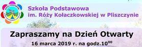Dzień otwarty w Szkole Podstawowej im. Róży Kołaczkowskiej w Pliszczynie