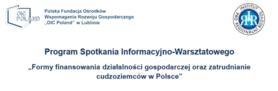 Formy finansowania działalności gospodarczej oraz zatrudnianie cudzoziemców w Polsce