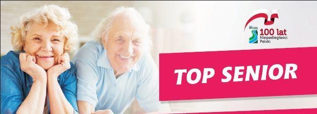 """Gmina Wólka zaprasza osoby powyżej 60 roku życia  do udziału w projekcie """"TOP SENIOR"""""""