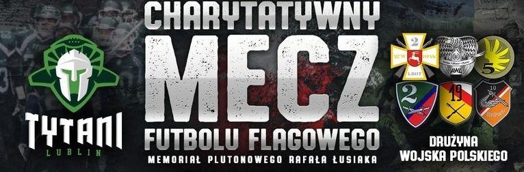 Wojsko Polskie kontra Tytani Lublin wmeczu charytatywnym