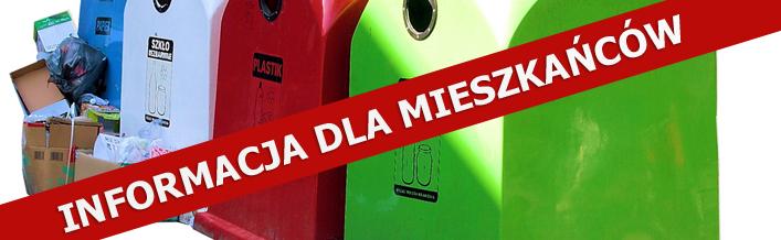 Zmiana terminów i godzin funkcjonowania Punktu Selektywnej Zbiórki Odpadów Komunalnych