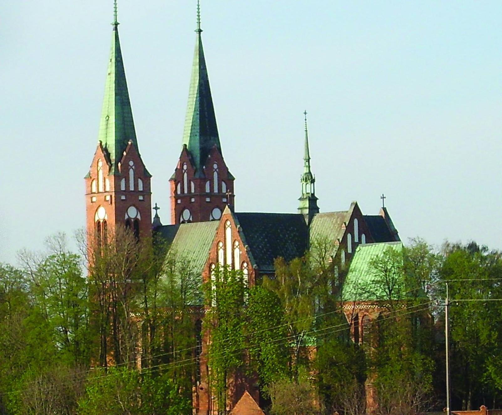 Neogotycki kościół w Garbowie