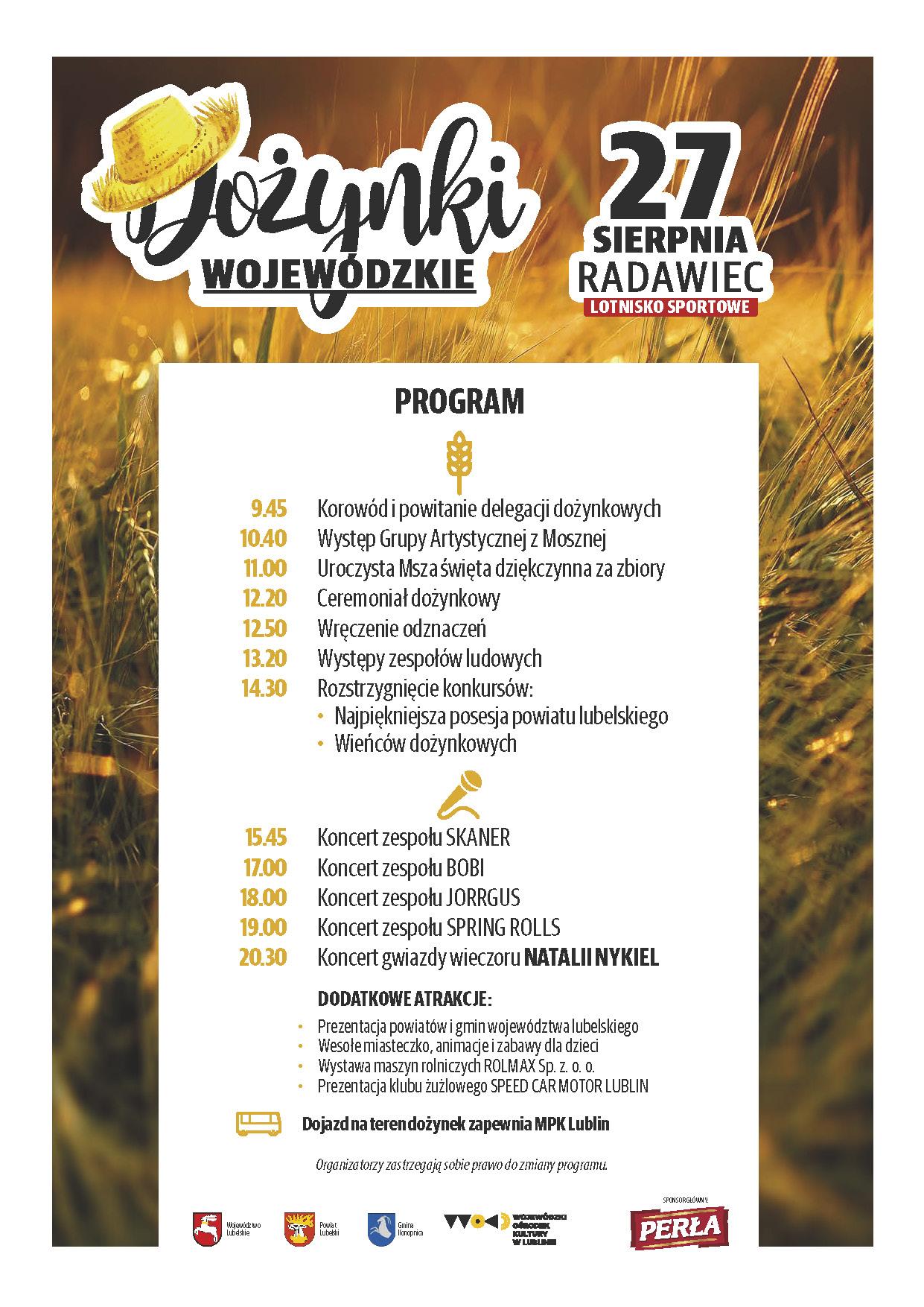 Plakat Program