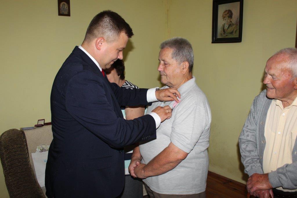 Państwo Puszkowie obchodzili jubileusz 50-lecia
