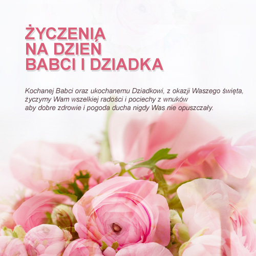 życzenia Na Dzień Babci I Dziadka 2014 Gmina Wólka