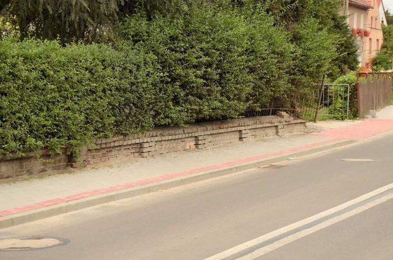 nowy chodnik w Wierzbnej