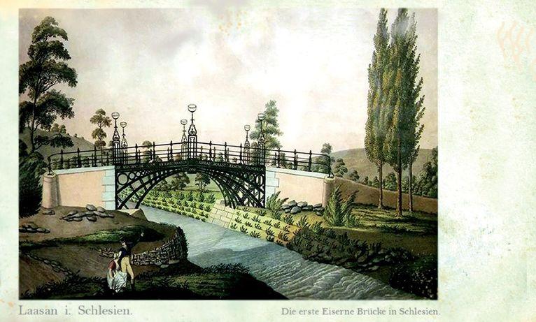 Stare zdjęcie most żelazny
