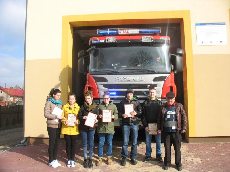 Turniej wiedzy pożarniczej