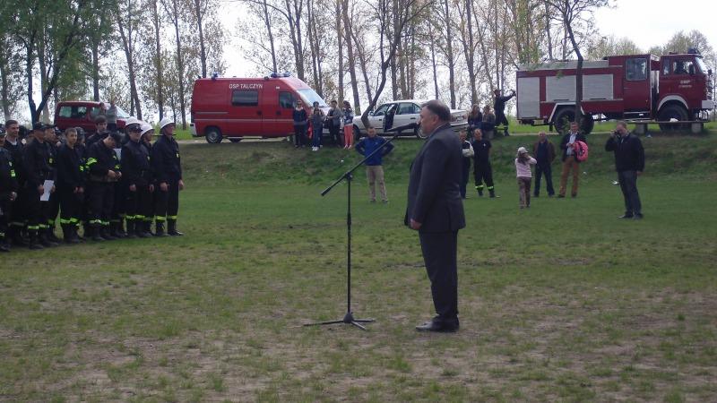 Gminne Zawody Sportowo-Pożarnicze,  Kamionka 2015