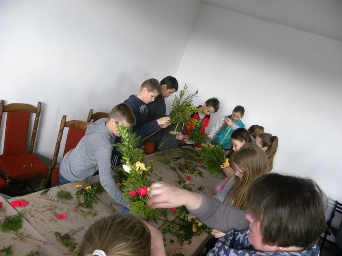 Kiermasz Wielkanocny z dnia 16 marca 2016 r. sala konferencyjna Urzędu Gminy w Abramowie.