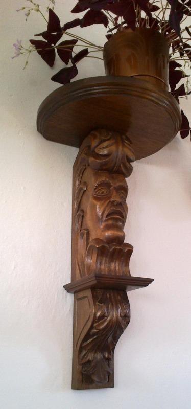 Wystawa rzeźby  w Bibliotece w Abramowie