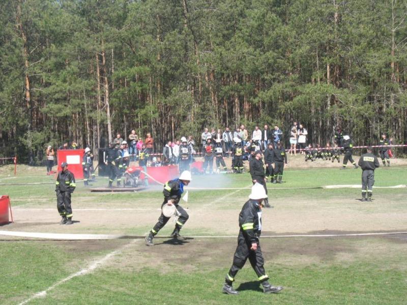 Gminne Zawody Sportowo-Pożarnicze Kamionka 2013 r