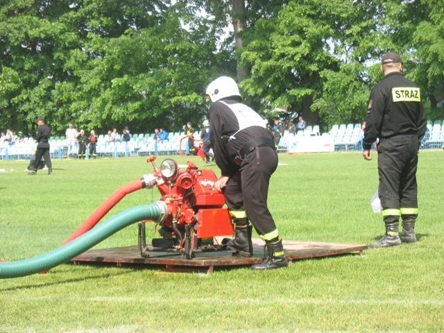 Ćwiczenia sportowo-pożarnicze