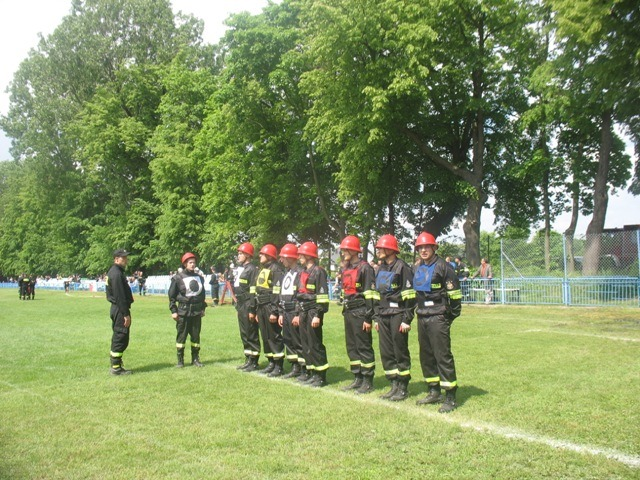 Ćwiczenia sportowo-pożarnicze - Wielkolas