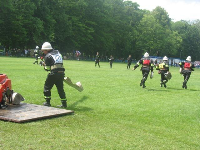 Ćwiczenia sportowo-pożarnicze - Wolica