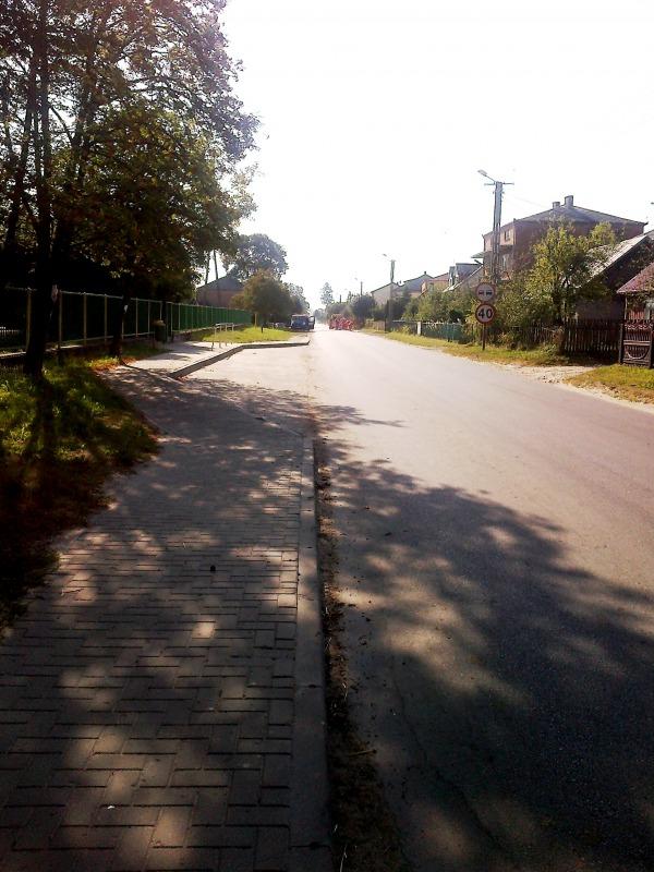 Budowa drogi I etap