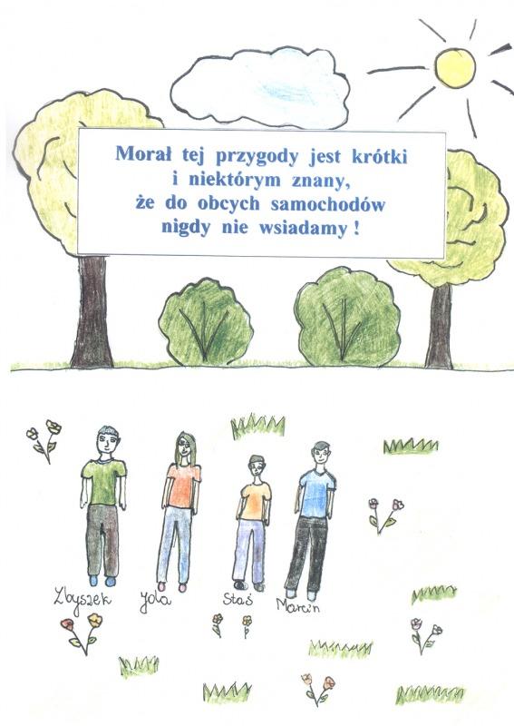<p>Komiks Zbyszek, Staś, Jala i niebezpieczna przygoda</p>