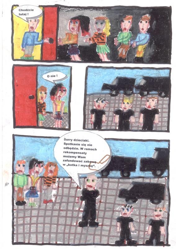 <p>Komiks Nieuleczalny strach</p>